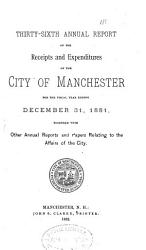Annual Report of the Receipts and Expenditures PDF