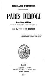 Paris démoli