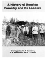 A History of Russian Forestry and Its Leaders PDF