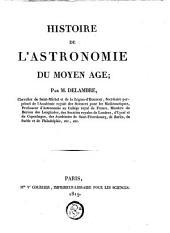 Histoire de l'astronomie du moyen âge