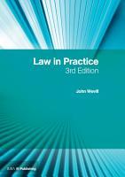 Law in Practice PDF