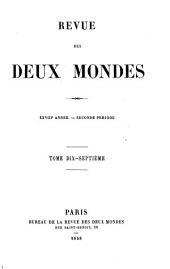 La revue des deux mondes: Volume5;Volume17;Volume124