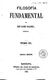 Filosofía fundamental