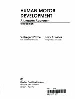 Human Motor Development PDF