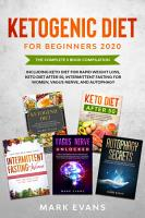 Ketogenic Diet for Beginners 2020 PDF