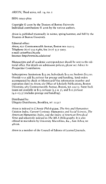 Arion PDF