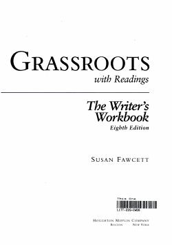 Grassroots Eighth Edition  Custom Publication PDF