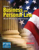 Business and Personal Law  Student Edition PDF