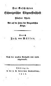 Johannes von Müller sämmtliche Werke: Band 23