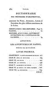 Fêtes et courtisanes de la Grèce: Supplément aux voyages d'Anacharsis et d'Anténor, Volume4
