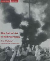 The Cult of Art in Nazi Germany PDF