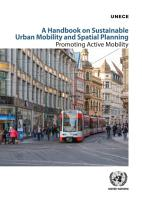 A Handbook on Sustainable Urban Mobility and Spatial Planning PDF