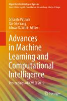 Advances in Machine Learning and Computational Intelligence PDF
