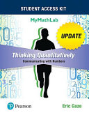 Thinking Quantitatively Book PDF