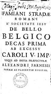 De bello Belgico ....: 1555-1578. Lib I