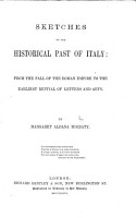 Sketches of the Historical Past of Italy PDF