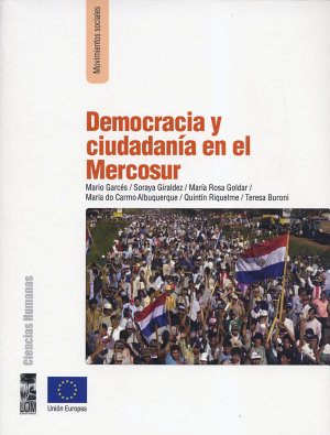 Democracia y ciudadan  a en el Mercosur PDF