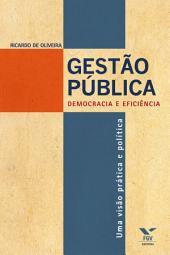 Gestão pública: democracia e eficiência - uma visão prática e política