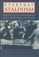 Everyday Stalinism PDF