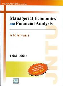Managerial Economics And Financial Analysis Book