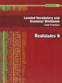 Leveled Vocabulary and Grammar Workbook: Core Practice