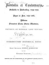 Somerset Record Society: Volume 5