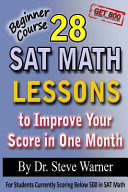 28 SAT Math Lessons to Improve Your Score in One Month   Beginner Course PDF