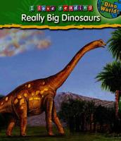 Really Big Dinosaurs and Other Giants PDF