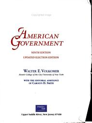 American Government PDF