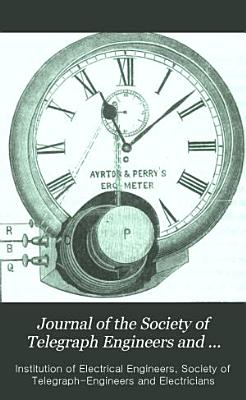 Journal of the Society of Telegraph Engineers and Electricians PDF