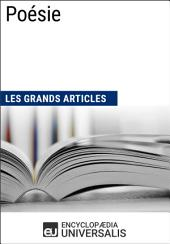 Poésie (Les Grands Articles): (Les Grands Articles d'Universalis)