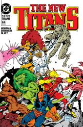 The New Titans (1988-1996) #64