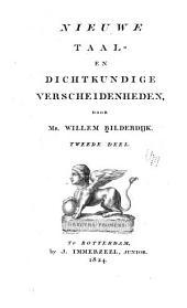 Nieuwe taal- en dichtkundige verscheidenheden: Volume 2