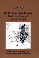 Ut philosophia poesis   PDF