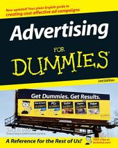 Advertising For Dummies: Edition 2