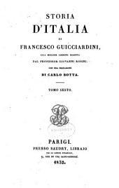 Storia d'Italia ... 1490-1534: Volume 6