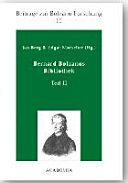 Bernard Bolzanos Bibliothek PDF