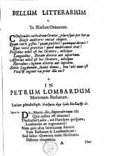 Bellum litterarium