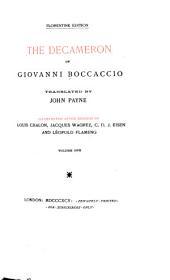The Decameron of Giovanni Boccaccio: Volume 1
