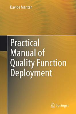 Practical Manual of Quality Function Deployment PDF