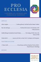 Pro Ecclesia Vol 21 N2 PDF