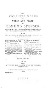 The Complete Works in Verse and Prose of Edmund Spenser: Volume 9