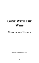 Gone With The Whip Book PDF