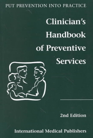 Clinician s Handbook of Preventive Services PDF