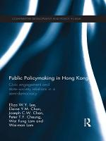 Public Policymaking in Hong Kong PDF