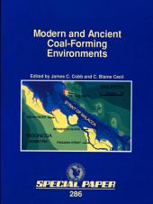 Modern and Ancient Coal-Forming Environments