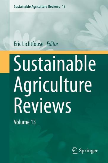 Sustainable Agriculture Reviews PDF