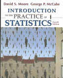 Introduction to the Practice of Statistics + Cd-rom + Study Guide