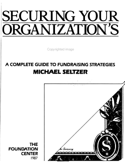 Securing Your Organization s Future PDF