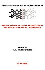 Recent Advances in Gas Separation by Microporous Ceramic Membranes
